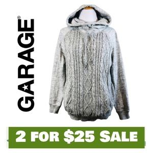 Hooded Sweater - Size Medium